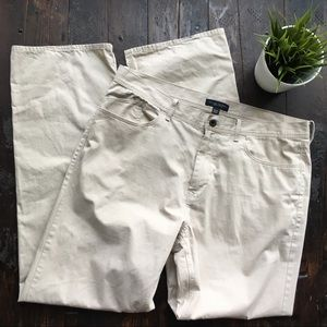 BANANA REPUBLIC Straight Khaki Pants Men's 36 x 34